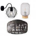 Cage wire lamp