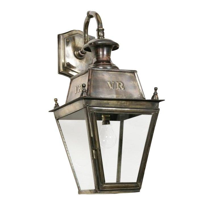 Rustic Outdoor Lamp Balm Top Mount