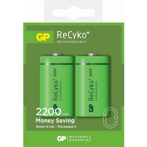 Chargeable Battery - C Size 2200 mAh - 3311668 - € 19.89