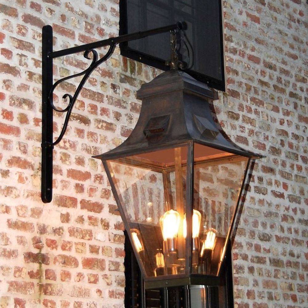 Rustic Outdoor Lamp Gracieuze Grand 4l
